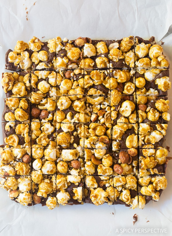 Must-Try 3-Ingredient Cracker Jack Fudge Recipe