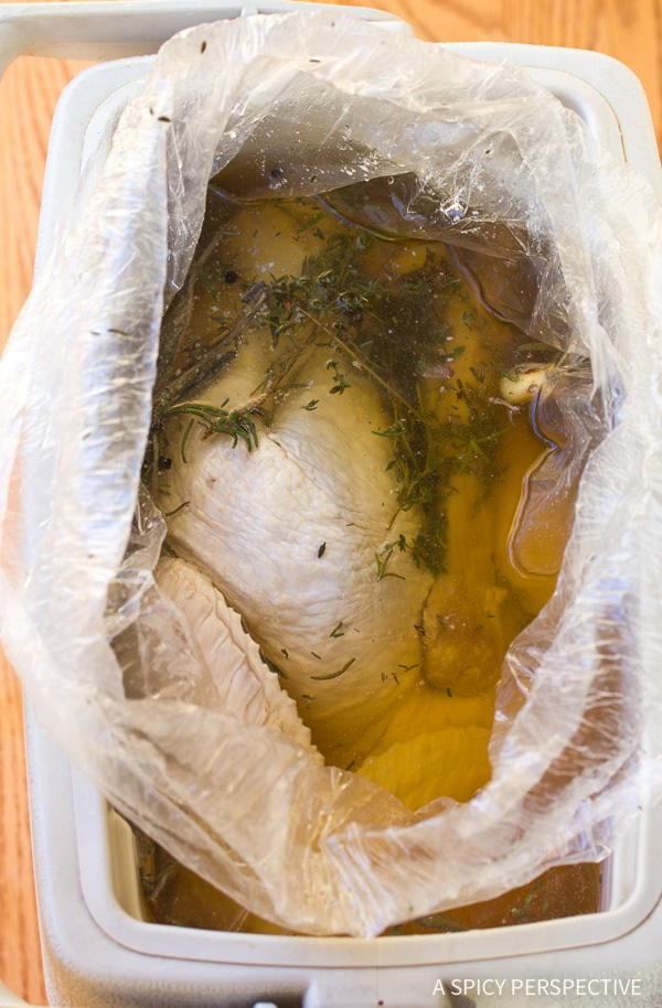 Making Cranberry Jalapeno Honey Baked Turkey Recipe
