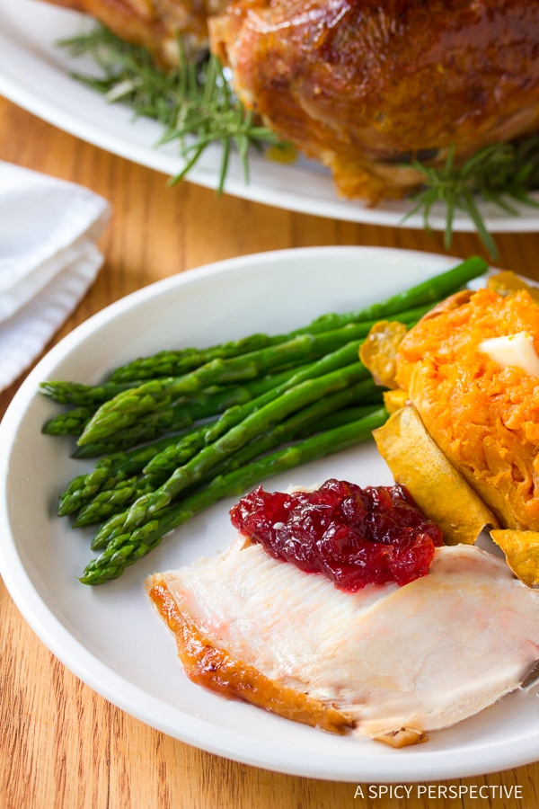 Crispy Cranberry Jalapeno Honey Baked Turkey Recipe