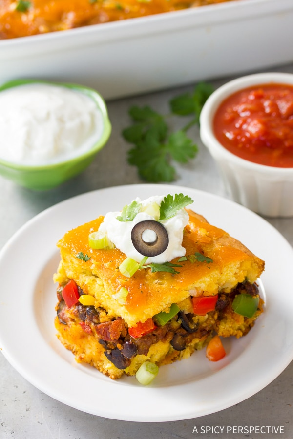 Perfect Fiesta Stuffed Cornbread Casserole Recipe