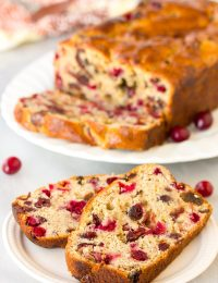 Fresh Orange Cranberry Bread Recipe