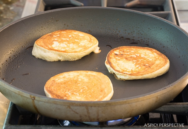 Simple Low Carb Cloud Bread Pancakes (Ketogenic) Recipe