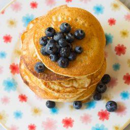 Low Carb Cloud Bread Pancakes (Ketogenic) Recipe