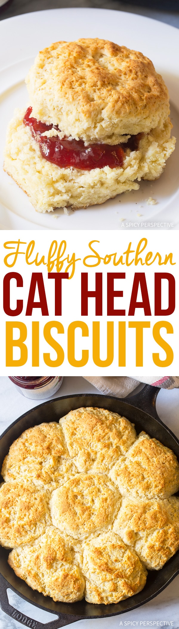 Perfect Fluffy Southern Cat Head Biscuits Recipe