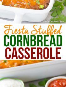 Fluffy Fiesta Stuffed Cornbread Casserole Recipe