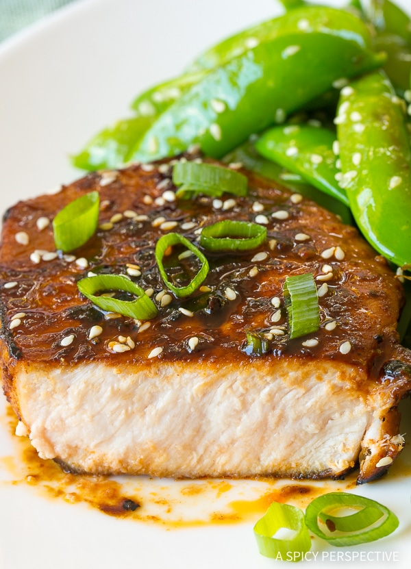 Zesty Pan Fried Korean Pork Chops Recipe