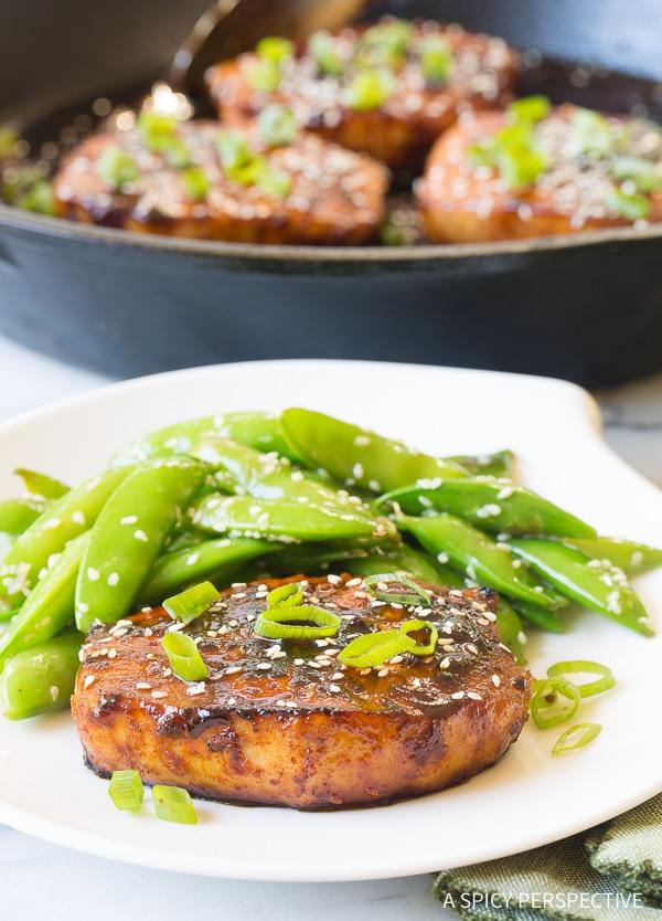 Easy Pan Fried Korean Pork Chops Recipe