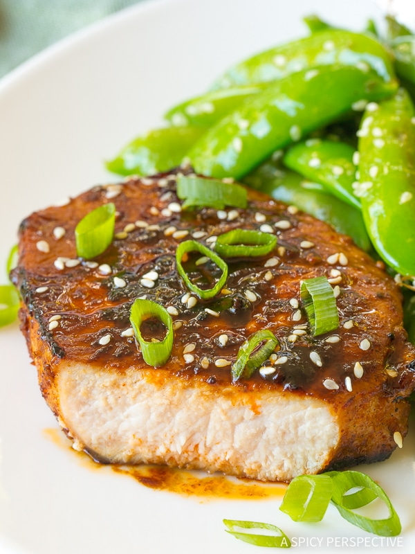 The Perfect Pan Fried Korean Pork Chops Recipe