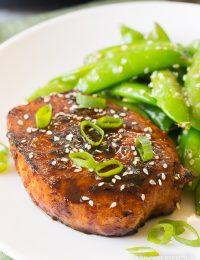 Pan Fried Korean Pork Chops Recipe