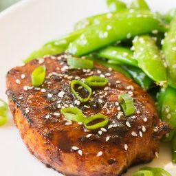 Pan Fried Korean Pork Chops Recipe