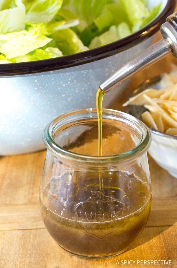 Making Lieutenant Dan's Steakhouse Salad Recipe