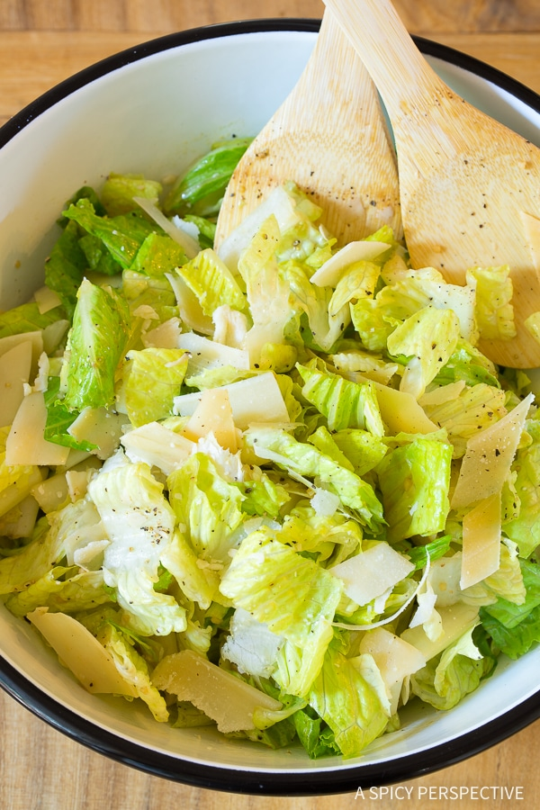 Lieutenant Dan's Perky Steakhouse Salad Recipe