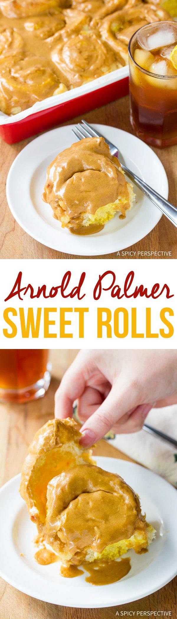 Amazing Arnold Palmer Sweet Rolls Recipe