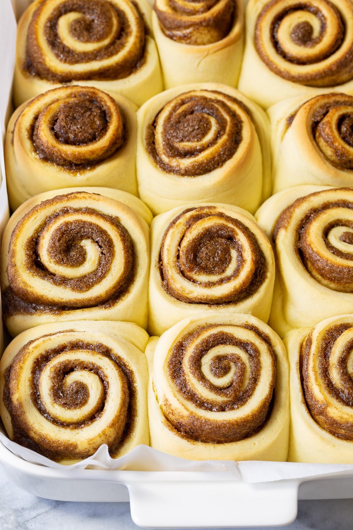 Baked Cinnamon Rolls Recipe #ASpicyPerspective #CinnamonRolls #CinnamonRollRecipe #HowtoMakeCinnamonRolls #Cinnabon #Dessert #Breakfast #Cinnamon #Homemade