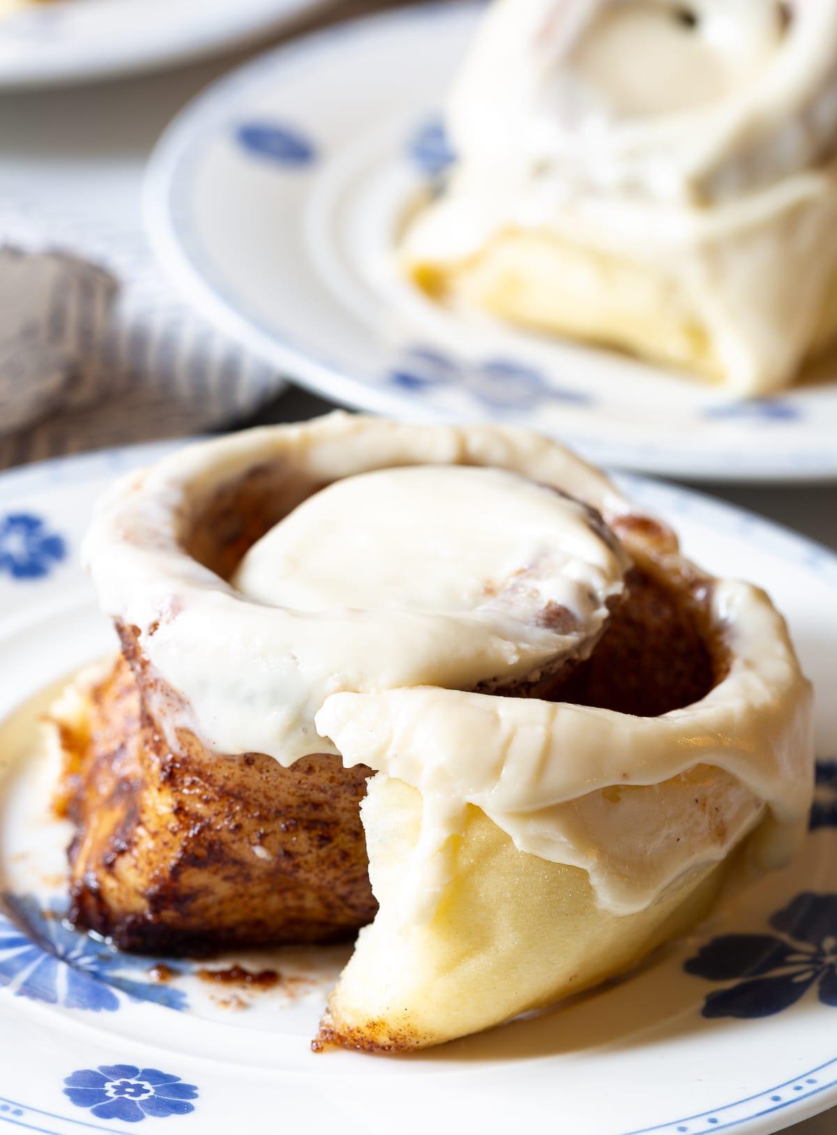 """Better than Cinnabon"" Cinnamon Rolls Recipe #ASpicyPerspective #CinnamonRolls #CinnamonRollRecipe #HowtoMakeCinnamonRolls #Cinnabon #Dessert #Breakfast #Cinnamon #Homemade"
