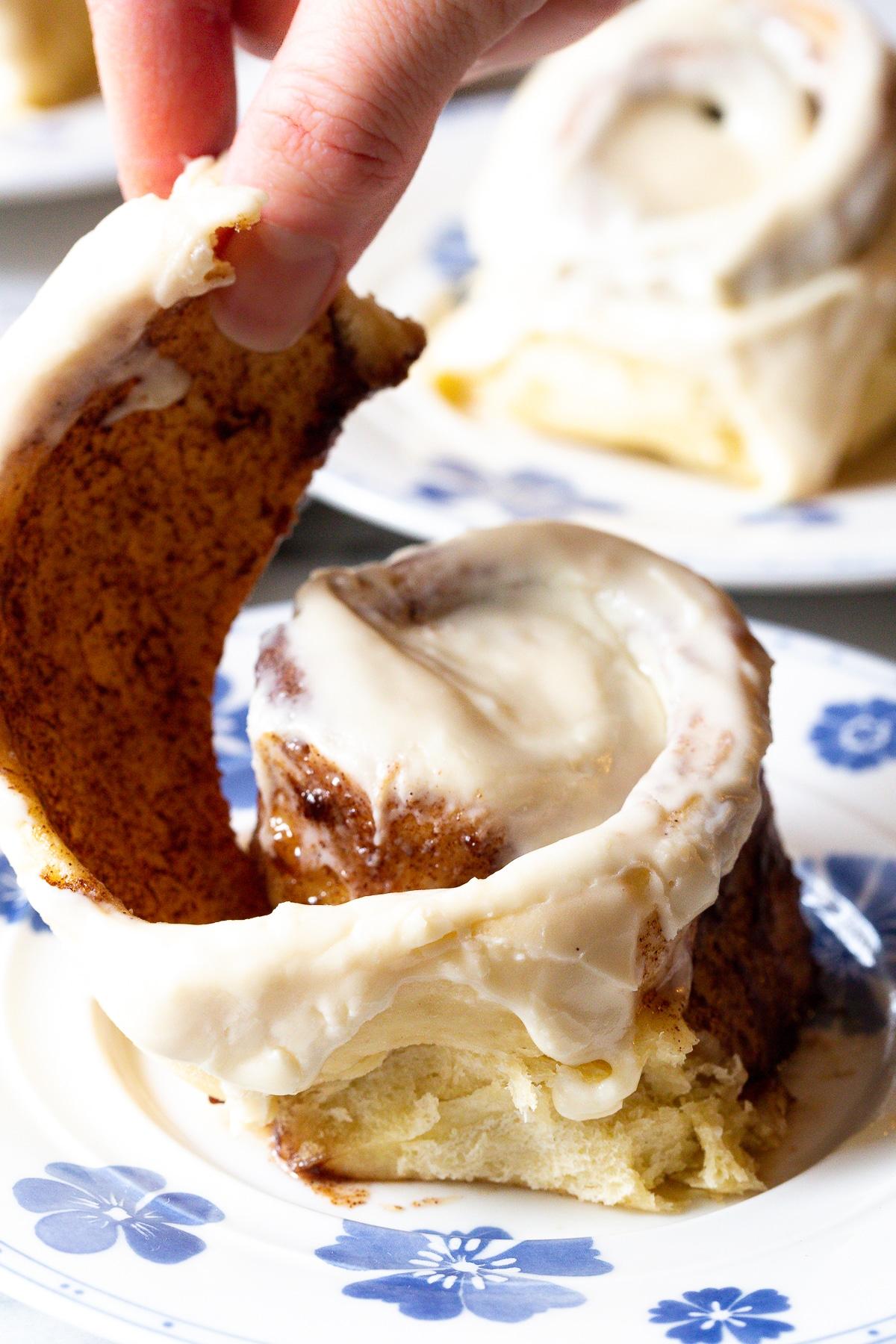 Cinnabon Recipe #ASpicyPerspective #CinnamonRolls #CinnamonRollRecipe #HowtoMakeCinnamonRolls #Cinnabon #Dessert #Breakfast #Cinnamon #Homemade