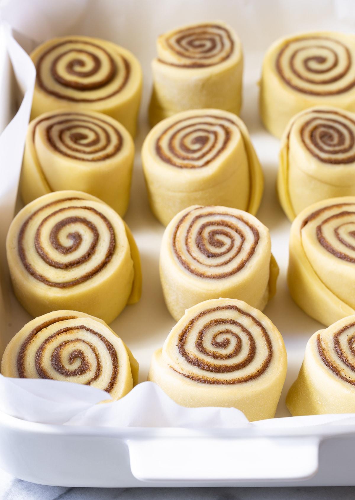 Homemade Cinnamon Rolls #ASpicyPerspective #CinnamonRolls #CinnamonRollRecipe #HowtoMakeCinnamonRolls #Cinnabon #Dessert #Breakfast #Cinnamon #Homemade