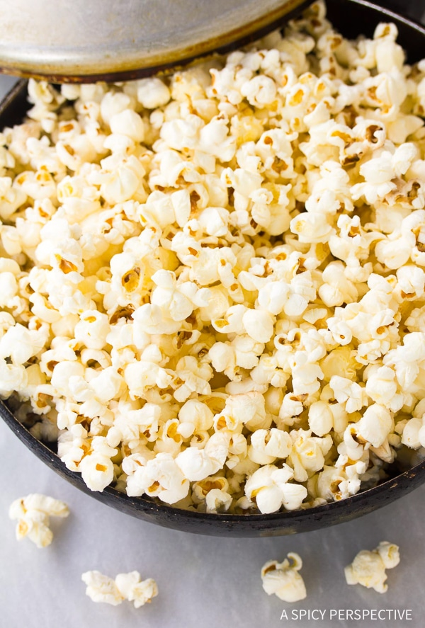 How To: Buffalo Blue Cheese Popcorn Recipe