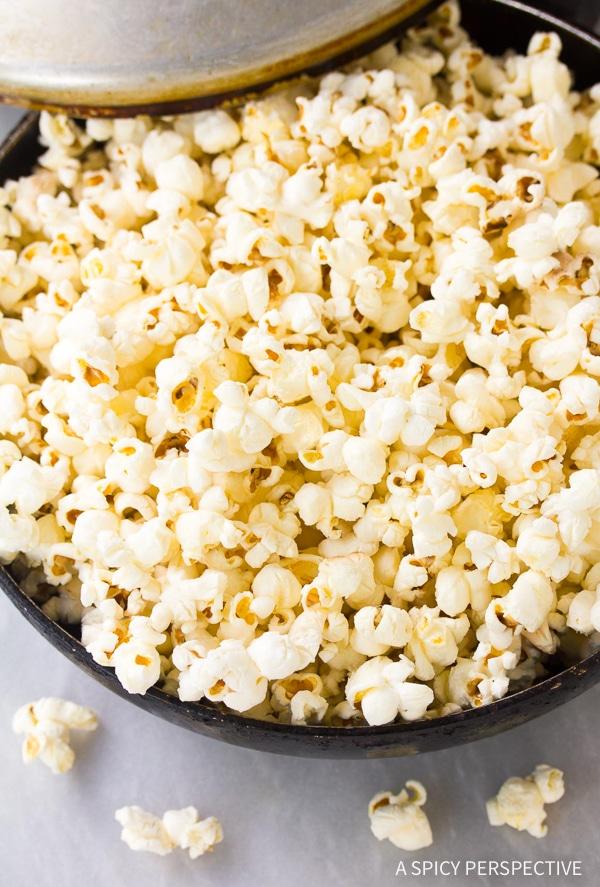 How To: Buffalo Blue Cheese Popcorn Recipe