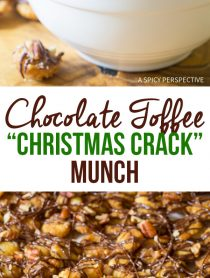 Best Chocolate Toffee Christmas Crack Munch Recipe for the holidays!