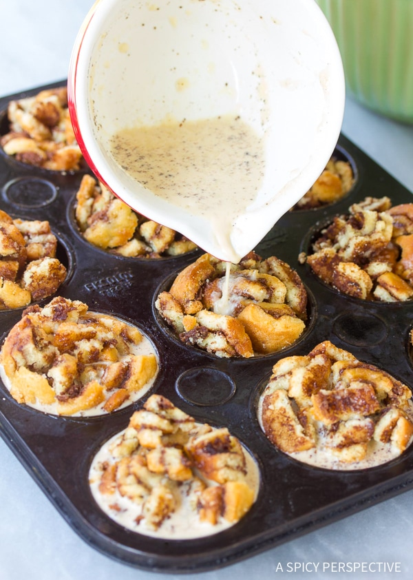 Must-Make Cinnamon Roll Bread Pudding Muffins Recipe