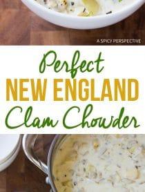 Perfect New England Clam Chowder Recipe