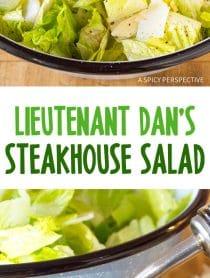 Lieutenant Dan's Steakhouse Salad Recipe