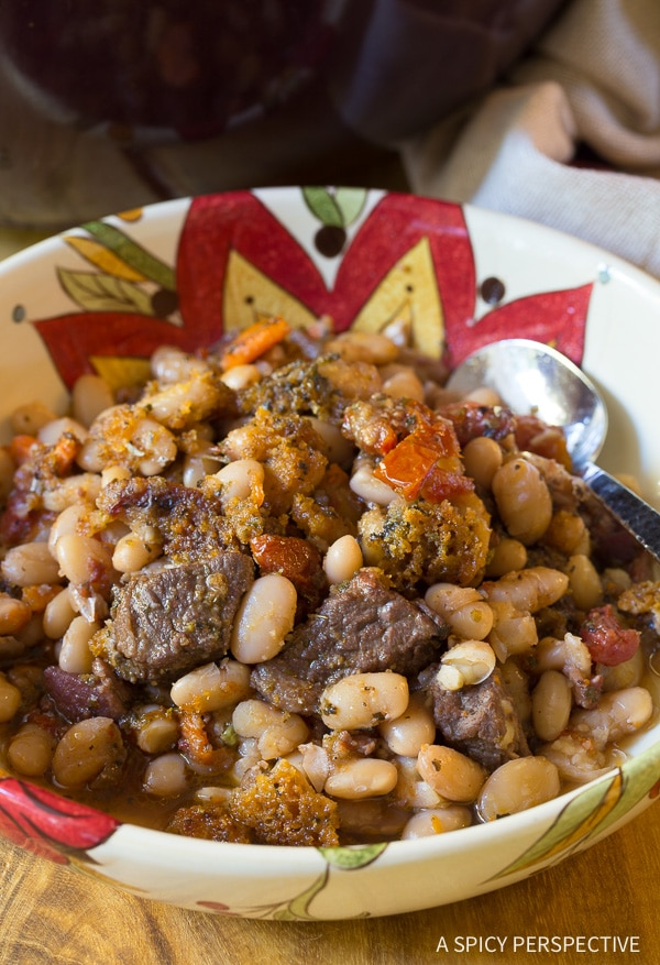 Best Tuscan-Style Beef Cassoulet Recipe