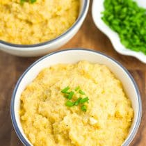 Cheesy Vegan Quinoa Grits Recipe