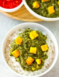 Simple Creamy Saag Paneer Recipe