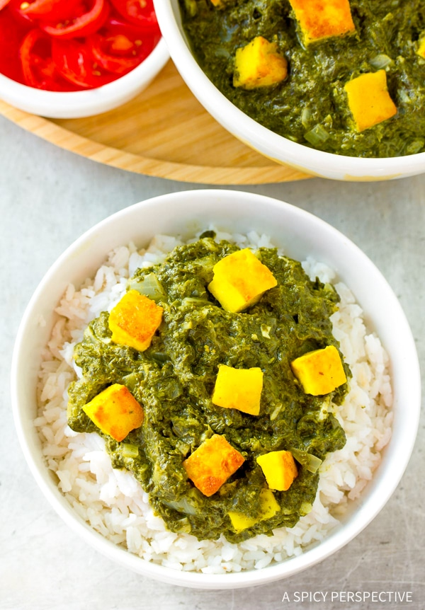 Creamy Saag Paneer Recipe A Spicy Perspective