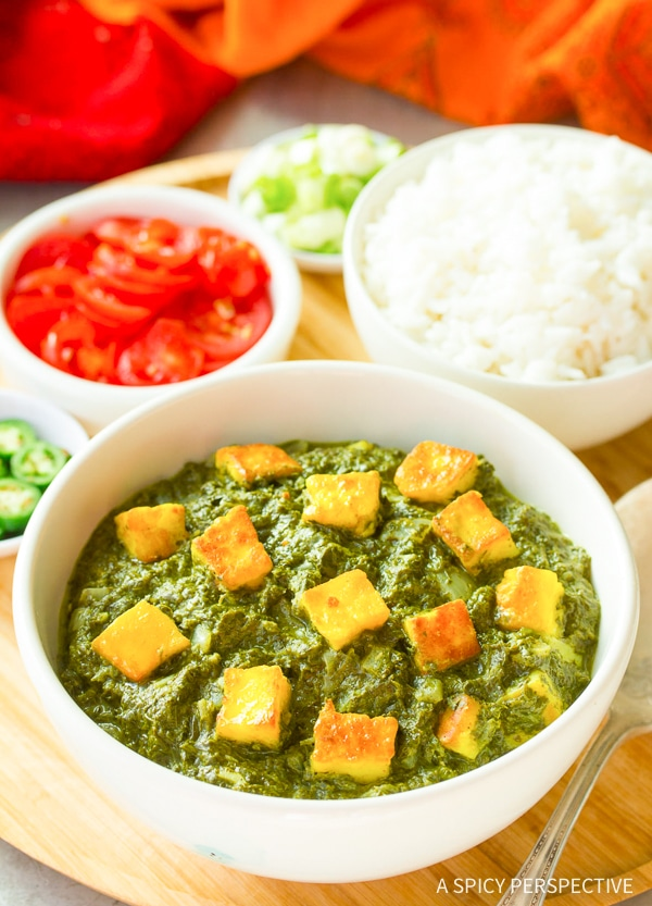 Spicy Creamy Saag Paneer Recipe