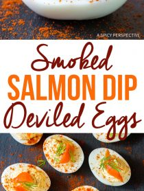 Low Carb Smoked Salmon Dip Deviled Eggs Recipe