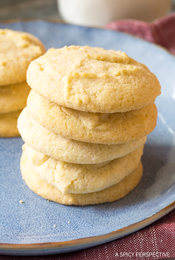 Soft Fluffy Allergen Free Freedom Cookies (Healthiest Sugar Cookies Ever!)