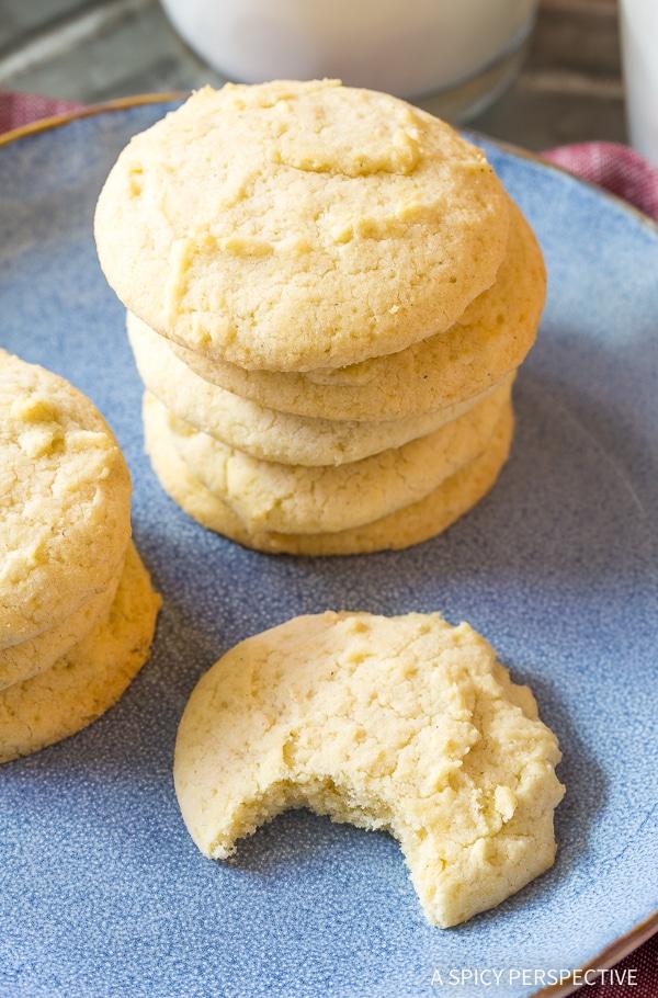 Soft Allergen Free Freedom Cookies (Healthiest Sugar Cookies Ever!)