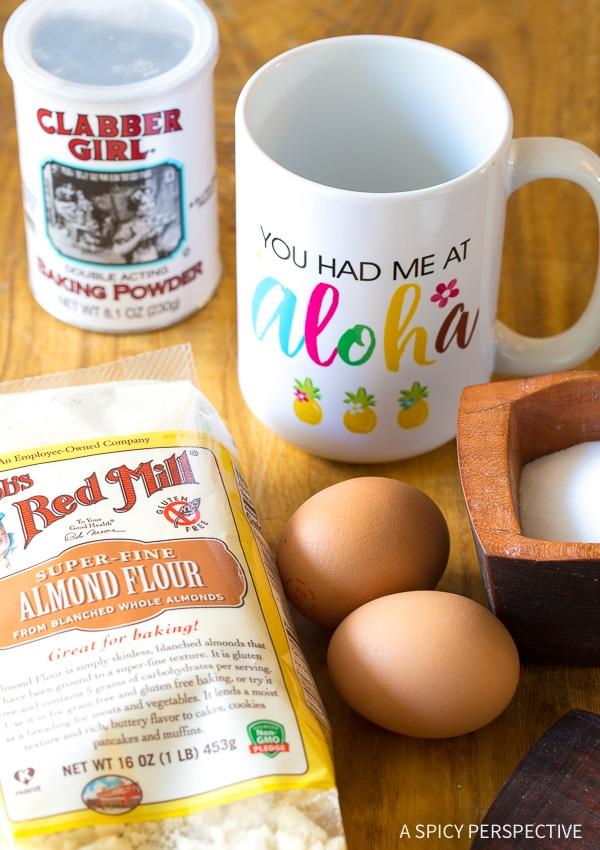 Making Low Carb Magic Mug Bread Recipe - Paleo, Ketogenic, Grain Free, Gluten Free, Sugar Free, Dairy Free!