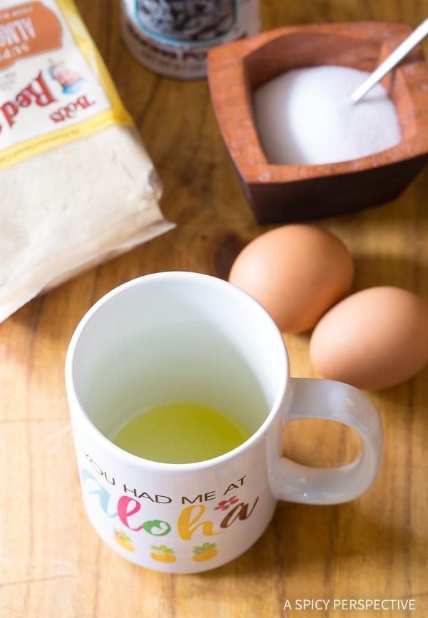 Magic Mug Low Carb Bread Recipe #ASpicyPerspective #Paleo #Ketogenic #SugarFree #DairyFree #GrainFree #GlutenFree