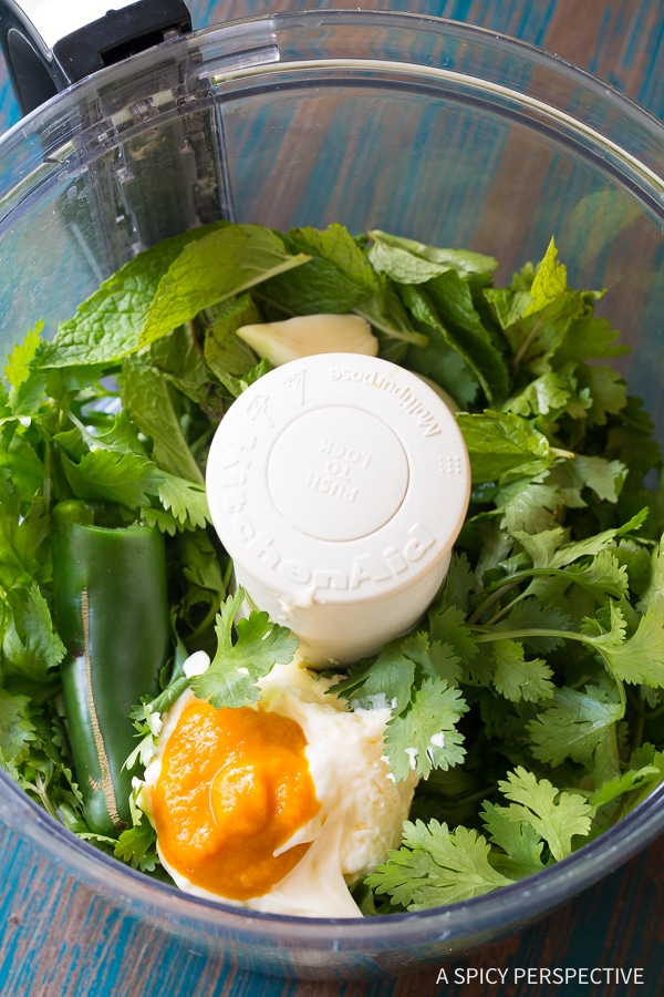 How to Make Aji Verde (Peruvian Green Sauce) Recipe