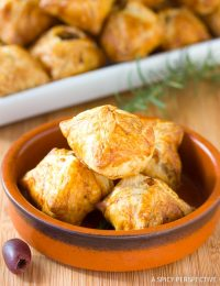 Bacon Kalamata Cheese Puffs Recipe
