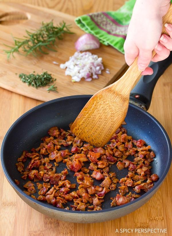 How To: Bacon Kalamata Cheese Puffs Recipe