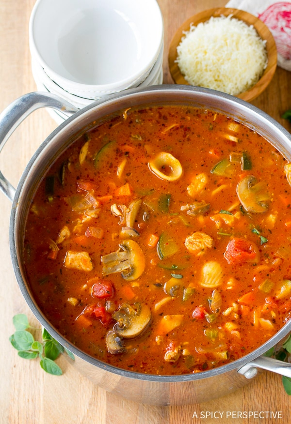 Best Healthy Chicken Cacciatore Soup Recipe
