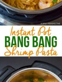 Instant Pot Bang Bang Shrimp Pasta Recipe (Pressure Cooker)