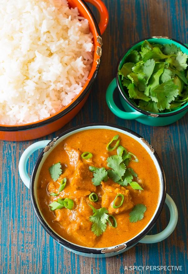 Zesty Instant Pot Butter Chicken Curry