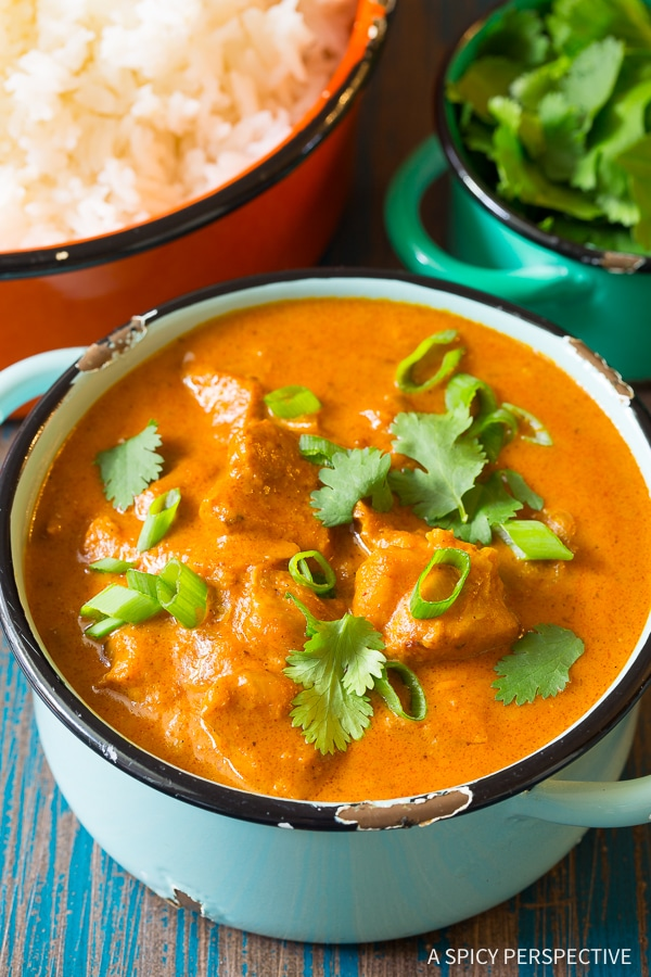 Silky Instant Pot Butter Chicken Curry Recipe