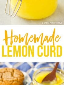 Zingy Homemade Lemon Curd Recipe