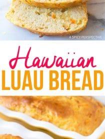 Tender Hawaiian Luau Bread Recipe