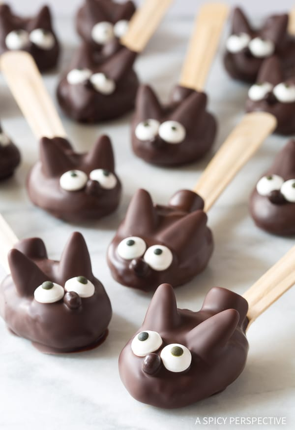 Irresistible Easter Bunny Chocolate Peanut Butter Truffle Spoons Recipe