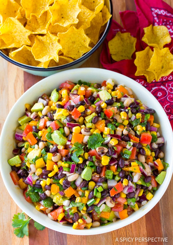 Buffalo Cowboy Caviar Recipe (Best salsa and side dish ever!)