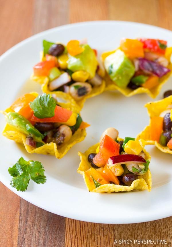 Healthy Buffalo Cowboy Caviar Recipe (Best salsa and side dish ever!)