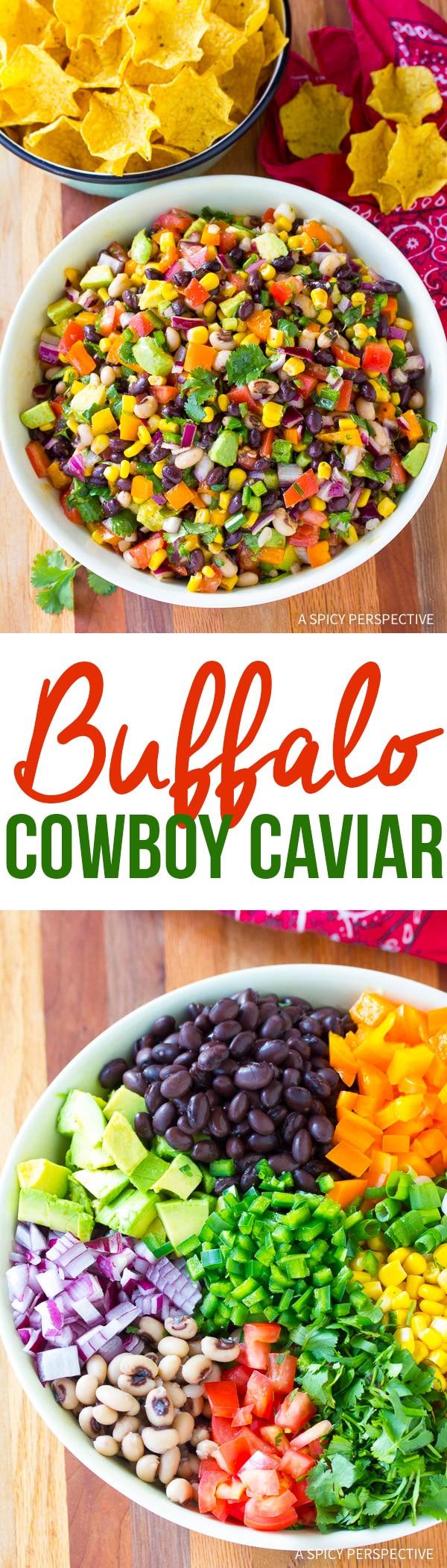Zesty Buffalo Cowboy Caviar Recipe (Best salsa ever!)